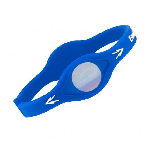 821 Ionen-Armband blau Größe: ca. 19,0 cm (M)