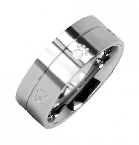 2084 Magnet Ring Pfote Größe: 17 ca. 17 mm (ca.54)