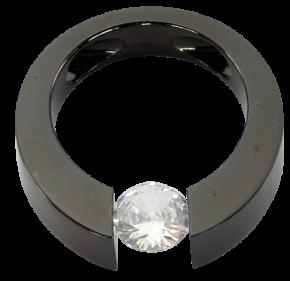 125 Magnet Anhänger mit Zirkonia