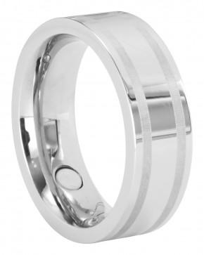 1388 Magnet Ring statt EUR29,-/CHF39,- Größe: 17 ca. 17 mm (ca.54)